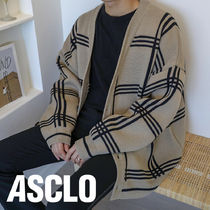 Big Check Cardigan (3color)