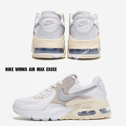 Nike スニーカー NIKE★WMNS AIR MAX EXCEE★兼用★ホワイト×ベージュ系