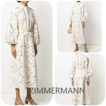Zimmermann  Zimmerman Edie Embroidery Long Dress