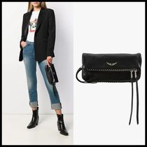 Zadig and Voltaire★Rocky Clutch Grainedタッセル付きクラッチ