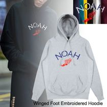 NOAH(ノア) パーカー・フーディ 20SS◆NEW◆お早めに◆NOAH◆Winged Foot Embroidered Hoodie