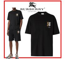 ★関税込★BURBERRY★Contrast Logo Graphic Cotton T-shirt★