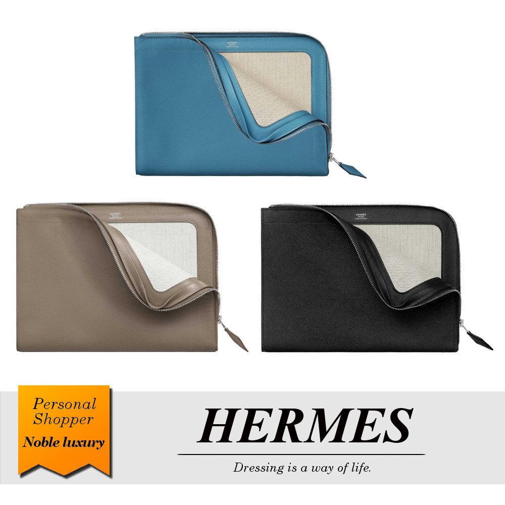 2020SS新作 HERMES クラッチバッグ ジップ・タブレット 3色展開 (HERMES/バッグ・カバンその他) H067831CK7R  H067831CKM8  H070227CK89