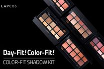 ●●韓国コスメ●●LAP COS COLOR-FIT SHADOW KIT 全4色♪