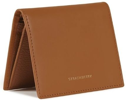 STRATHBERRY 折りたたみ財布 メガン妃愛用★Strathberry★WALKERS STREET WALLETレザー財布(6)