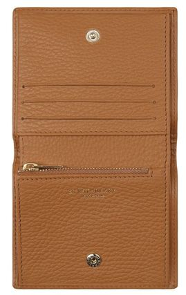 STRATHBERRY 折りたたみ財布 メガン妃愛用★Strathberry★WALKERS STREET WALLETレザー財布(7)