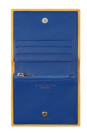 STRATHBERRY 折りたたみ財布 メガン妃愛用★Strathberry★WALKERS STREET WALLETレザー財布(9)