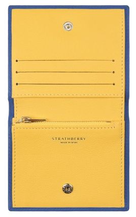 STRATHBERRY 折りたたみ財布 メガン妃愛用★Strathberry★WALKERS STREET WALLETレザー財布(11)