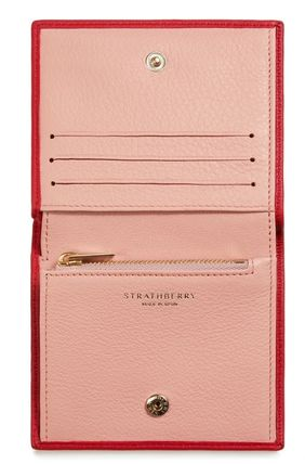 STRATHBERRY 折りたたみ財布 メガン妃愛用★Strathberry★WALKERS STREET WALLETレザー財布(13)