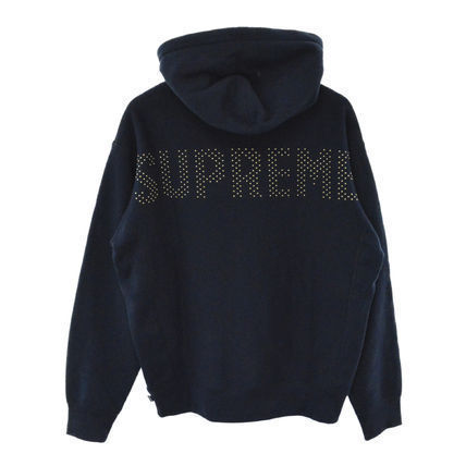 Supreme Studded Hooded Sweatshirt 18SS 2018