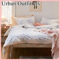 Urban Outfitters 花柄 クロスステッチ風 コットン 布団カバー