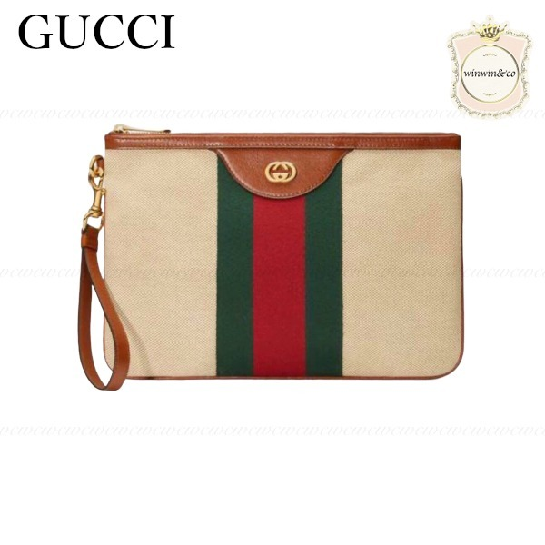 SALE■GUCCI■大人気ヴィンテージ キャンバス ポーチ (GUCCI/ポーチ) 53049724