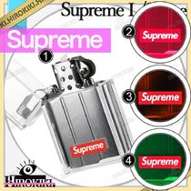 19FW /Supreme Tsubota Pearl Hard Edge Lighter ロゴ ライター