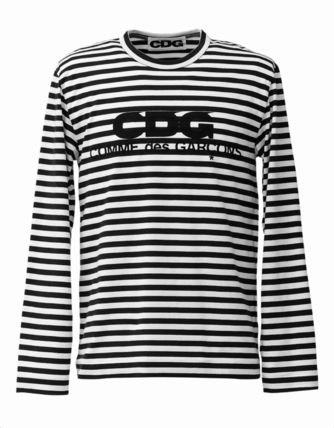 COMME des GARCONS Tシャツ・カットソー 3カラー 送料込 コムデギャルソン CDG ボーダー カットソー(4)