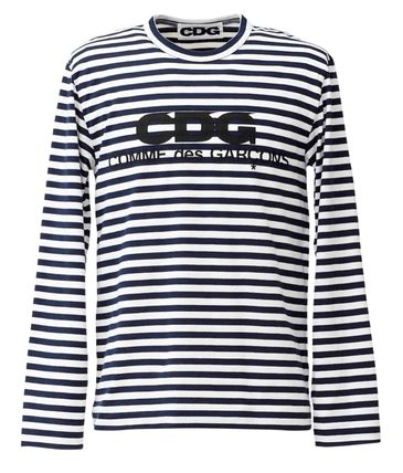 COMME des GARCONS Tシャツ・カットソー 3カラー 送料込 コムデギャルソン CDG ボーダー カットソー(6)
