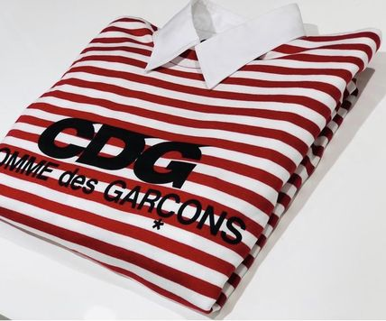 COMME des GARCONS Tシャツ・カットソー 3カラー 送料込 コムデギャルソン CDG ボーダー カットソー(8)
