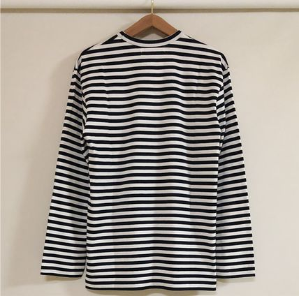 COMME des GARCONS Tシャツ・カットソー 3カラー 送料込 コムデギャルソン CDG ボーダー カットソー(10)