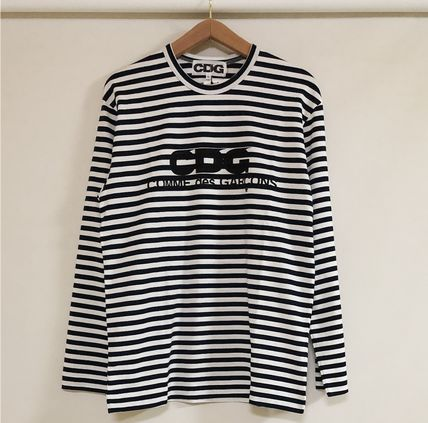 COMME des GARCONS Tシャツ・カットソー 3カラー 送料込 コムデギャルソン CDG ボーダー カットソー(9)