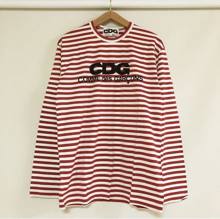 COMME des GARCONS Tシャツ・カットソー 3カラー 送料込 コムデギャルソン CDG ボーダー カットソー(11)