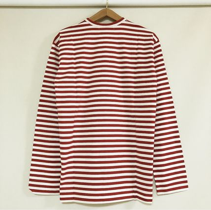 COMME des GARCONS Tシャツ・カットソー 3カラー 送料込 コムデギャルソン CDG ボーダー カットソー(12)