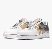 [Nike] Air Force 1 '07 White/Metallic Gold/Metallic Silver