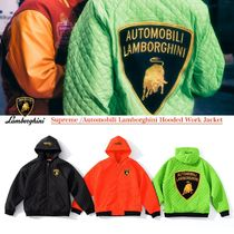 SS20 Supreme Automobili Lamborghini Hooded Work Jacket