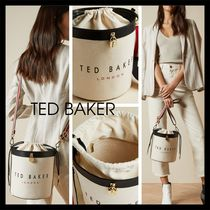 【Ted Baker】UK発! 新作 JETTIA キャンバス バケットバッグ