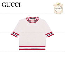 SALE■GUCCI■国内発■大人気 GGウールシルク トップ