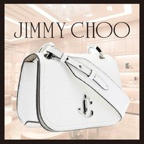 "新作◆JIMMY CHOO◆""Varenne Crossbody"" shoulder bag"