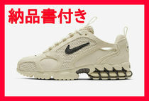 20SS NIKE STUSSY AIR ZOOM SPIRIDON CAGE 2 MENS FOSSIL