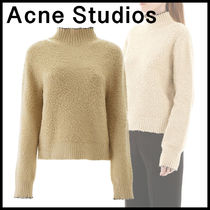 【関送込/国内発】ACNE STUDIOS Brushed polo neck sweater