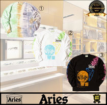 残少  ARIES アリーズ Tシャツ Ripple Tie Dye  French Monster