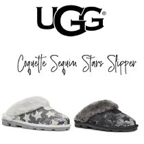 【UGG】COQUETTE SEQUIN STARS SLIPPER コケット