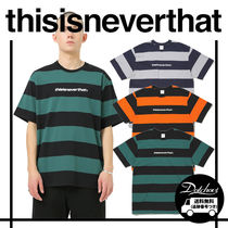 thisisneverthat SP-Logo Striped Tee MH1449 追跡付