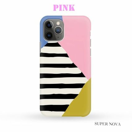 Harper & Blake スマホケース・テックアクセサリー [Haper&Blake]Block Shapes Stripes *Phone Case(2)