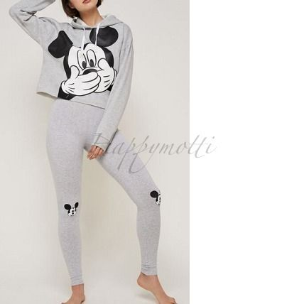 undiz ルームウェア・パジャマ Undiz*mickijumpiz mickey hooded sweatshirt leggings ○関送込(5)