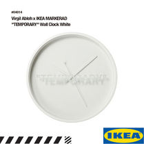 "【限定】Virgil Abloh x IKEA MARKERAD ""TEMPORARY"" Wall Clock"