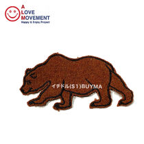 A LOVE MOVEMENT California Bear Patch 4 カシミア パッチ ALM