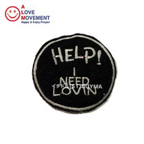 A LOVE MOVEMENT ALM HELP I NEED LOVIN' Patch カシミア パッチ