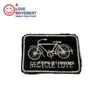 A LOVE MOVEMENT RECYCLE LOVE Patch カシミア パッチ