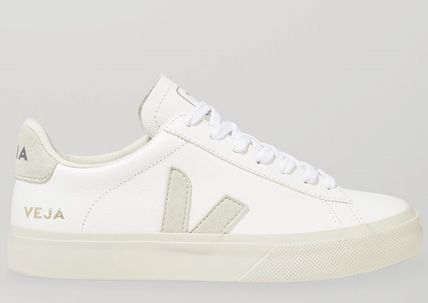 ★VEJA★+ NET SUSTAIN CAMPO LEATHER AND VEGAN SUEDE SNEAKERS
