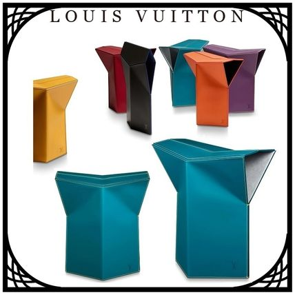 Louis Vuitton 椅子・チェア LOUIS VUITTON STOOL BY ATELIER OI 国内直営店 すぐ届く