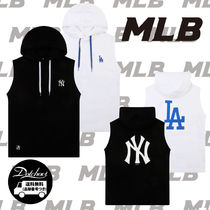 MLB KOREA BIG LOGO HOOD SLEEVELESS NR1009 追跡付