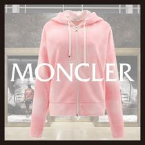 新作◆MONCLER◆Sweatshirt with logo patch