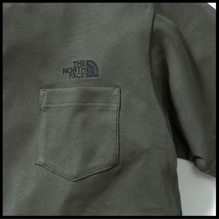THE NORTH FACE Tシャツ・カットソー 国内発送・正規品★THE NORTH FACE★MEN'S LOGO POCKET T-SHIRT(8)