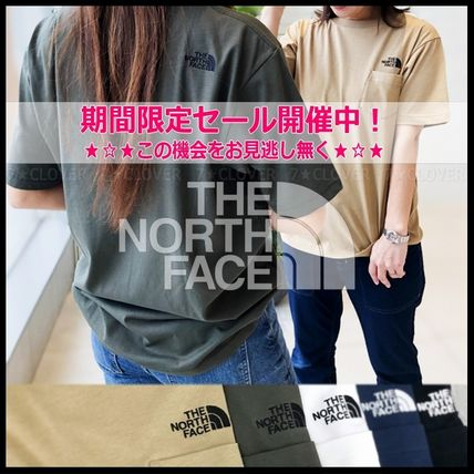 THE NORTH FACE Tシャツ・カットソー 国内発送・正規品★THE NORTH FACE★MEN'S LOGO POCKET T-SHIRT