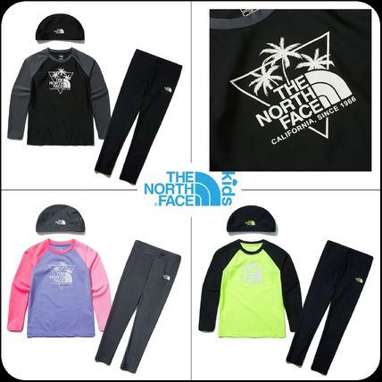THE NORTH FACE 子供用水着・ビーチグッズ [THE NORTH FACE]★ 20SS NEW ★K'S SAVE OCEAN RASHGUARD SET