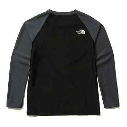 THE NORTH FACE 子供用水着・ビーチグッズ [THE NORTH FACE]★ 20SS NEW ★K'S SAVE OCEAN RASHGUARD SET(4)