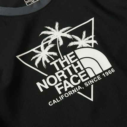 THE NORTH FACE 子供用水着・ビーチグッズ [THE NORTH FACE]★ 20SS NEW ★K'S SAVE OCEAN RASHGUARD SET(5)