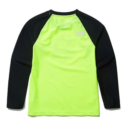 THE NORTH FACE 子供用水着・ビーチグッズ [THE NORTH FACE]★ 20SS NEW ★K'S SAVE OCEAN RASHGUARD SET(11)